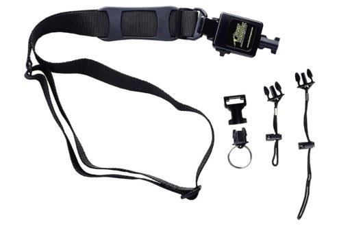 Retractors for Shoulder Strap Mounted Bar Code Scanner